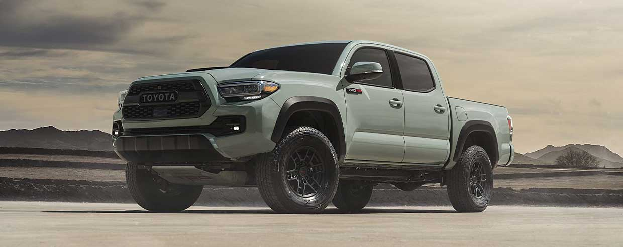 The New Toyota Tacoma is #1